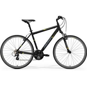 Bicicleta Urbana Rin 700 Negra Amarilla Marca Merida