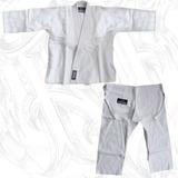 Kimono Infantil De Jiu Jitsu Rip Dorey Branco + Faixa Branca