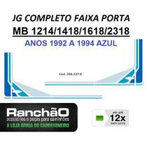 Faixa Porta Caminhão Mb 1214 1418 1618 2318 1992.. Azul (jg)