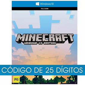 Minecraft For Windows 10 Pc Cod Key Completo Original Online