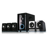 Home Theater 5.1 Noganet Logan Usb Bluetooth Sd 95 W Remoto