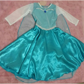 Elsa Princesa Frosen Vestido