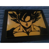 Cuadro Gokú Dragon Ball Z En Relieve