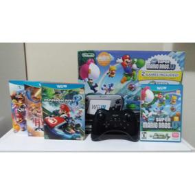 Nintendo Wii U Mario & Luigi Deluxe Set 32 Gb + Extras