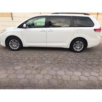 Toyota Sienna 5p Xle Aut Piel 2011