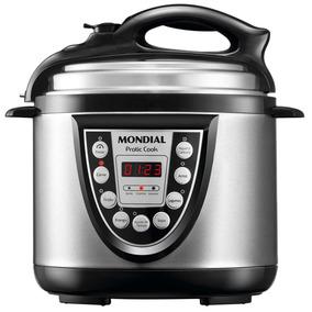 Panela De Pressão Elétrica Mondial Pratic Cook Pe09 220v