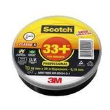 Fita Isolante Scotch 33+ 3m - 20mtrs-19mm (caixa Fechada)