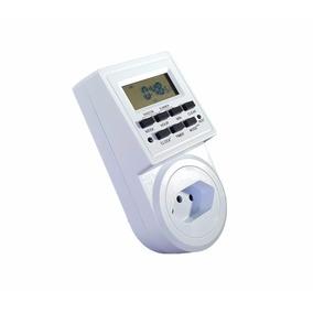 Timer Digital Temporizador Tomadas Ultra Bivolt 16a