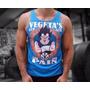 Camiseta Academia Regata No Pain No Gain Musculação Treino