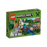 Lego 21123 Minecraft El Gólem De Hierro Confidential !!!!!