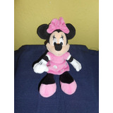 Peluche Minnie Mouse Original De Disney 26 Cms