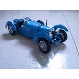 Bugatti Type 59 Bburago 1:18 Excelente Estado Con Base