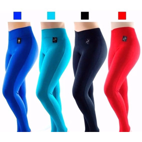 Kit 10 Calça Leg Suplex Legging Fitness/academia