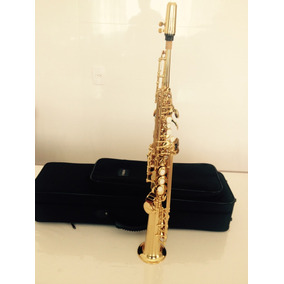 Sax Soprano Yamaha 475 Yss - Made In Japan - Novo