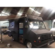 Food Truck Vanette Chevrolet En Acero Inoxidable