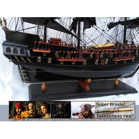 Navio Perola Negra Piratas Do Caribe Jack Sparrow Perfeição