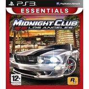 Midnight Club Los Angeles [ps3 Digital]