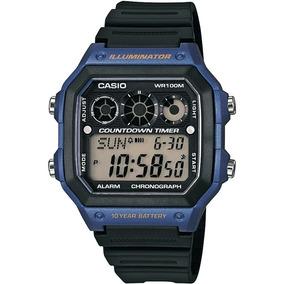 458f4f20cd0 Relógio Casio Ae 1300wh 2avdf Azul - Relógios no Mercado Livre Brasil