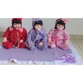 Bebê Reborn Menina Promoção Barata3 Cores Disponivel.