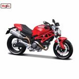 Moto Ducati Monster Maisto 1:18 Fresh Metal Coleccion Nuevo