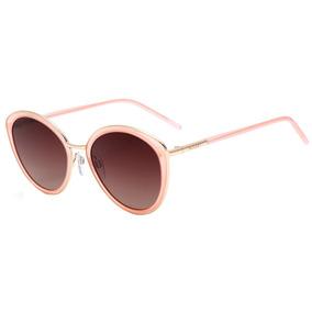Bulget Bg 5142 - Óculos De Sol T02 Rosa E Dourado Brilho/