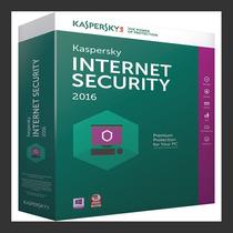 Kaspersky Internet Security 2017 - 1 Pcs 1 Ano - Lançamento!