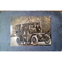 Fotografia Panhard Levassor 1910 Antigua Matricula 110