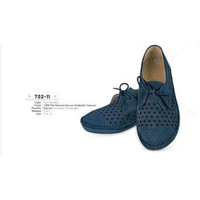 Zapato Color Mezclilla Linea Confort 752-11 Cklass