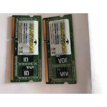 Dois Pentes De Memoria Ram Total 4 Gb Ddr3 10600