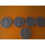 Lote De Monedas 50 Pesos 1984;1985;1986;1987;1988