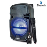 Amplificador Karaoke 8 Bluetooth Micrófono Usb Sd Fm Fujitel