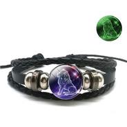 Bracelete Unissex Signo De Leão Do Zodíaco Luminoso