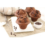Muffin De Chocolate Con Chips X 6