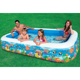 Piscina Familiar Intex Inflable 3 Metros 58485 Gigante