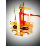 Maquina De Fazer Chinelo Completa Com 10 Facas Corte Duplo