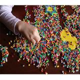 50000 Pzas Hama Beads Mini [2.6mm] + Papel + Pinzas + Base