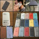 Silicone Case Iphone X 7/8 7/8 Plus Original Oem Importado