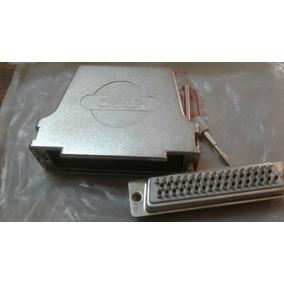 Conector Db 50 Macho Con Carcasa De Metal.