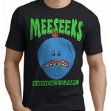 Remera Rick And Morty Mr Meeseks Estampada