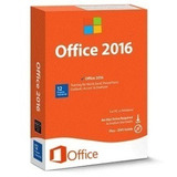 Licencia De Office 2016 Para 32y64 Bits 1 Pc