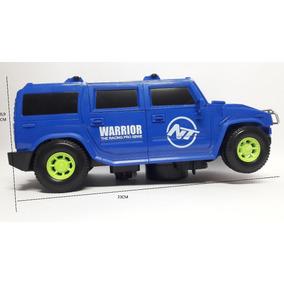 Carro Vira Robo (hummer) 3d Reflete No Chão