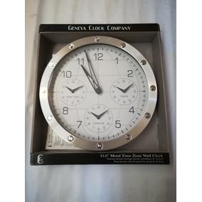 Reloj De Pared Cuatro Hora Mundial Trading Hotel Oficina