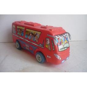 Autobus De Pasajeros - Camioncito De Juguete Escala Bootleg