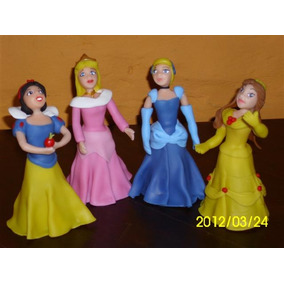 Todas Las Princesas De Disney En Porcelana Fría En Tu Torta