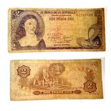 Antiguo Billete De Colombia