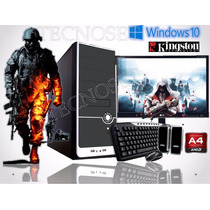 Pc Completa Computadora Monitor 19 Gamer Hdmi Win 10 4g A4