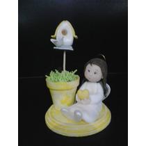 Adorno De Torta Para Comunion (porcelana Fria )