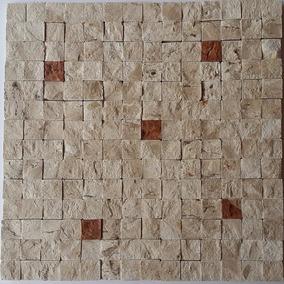 Canjiquinha, Mosaico, Pastilhas, Mármore Travertino. Telada
