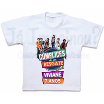 Blusa Cumplices De Um Resgate Camiseta Personalizada T-shirt