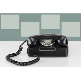Telefone Modelo Antigo Restaurado Fio Funcionando Exclusivo